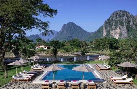 Charming Hotels Vang Vieng, Riverside Boutique Resort Vang Vieng